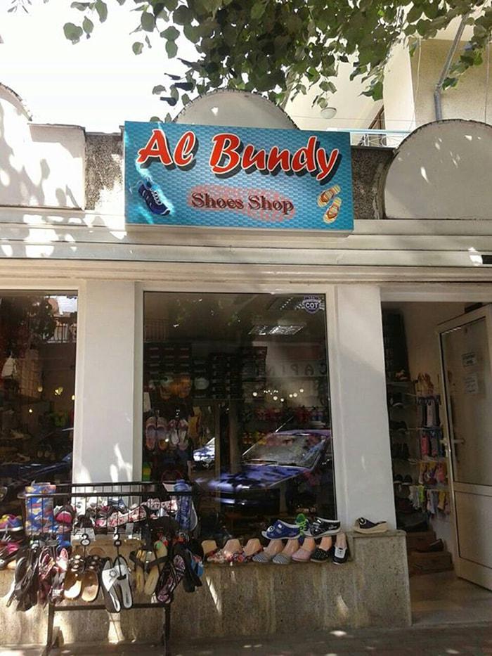 Al Bundy Shop Light board