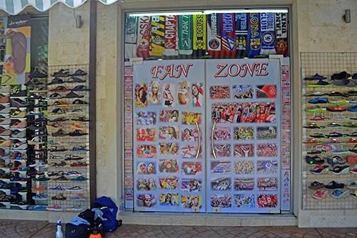 Sport Shop Window Design Graphic